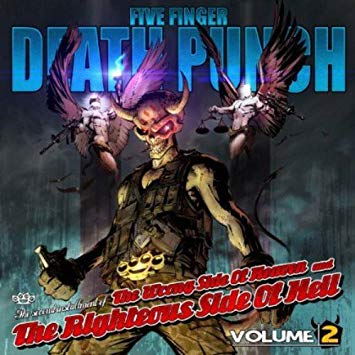 Five Finger Death Punch Wrong Side Of Heaven Vol 2 album cover