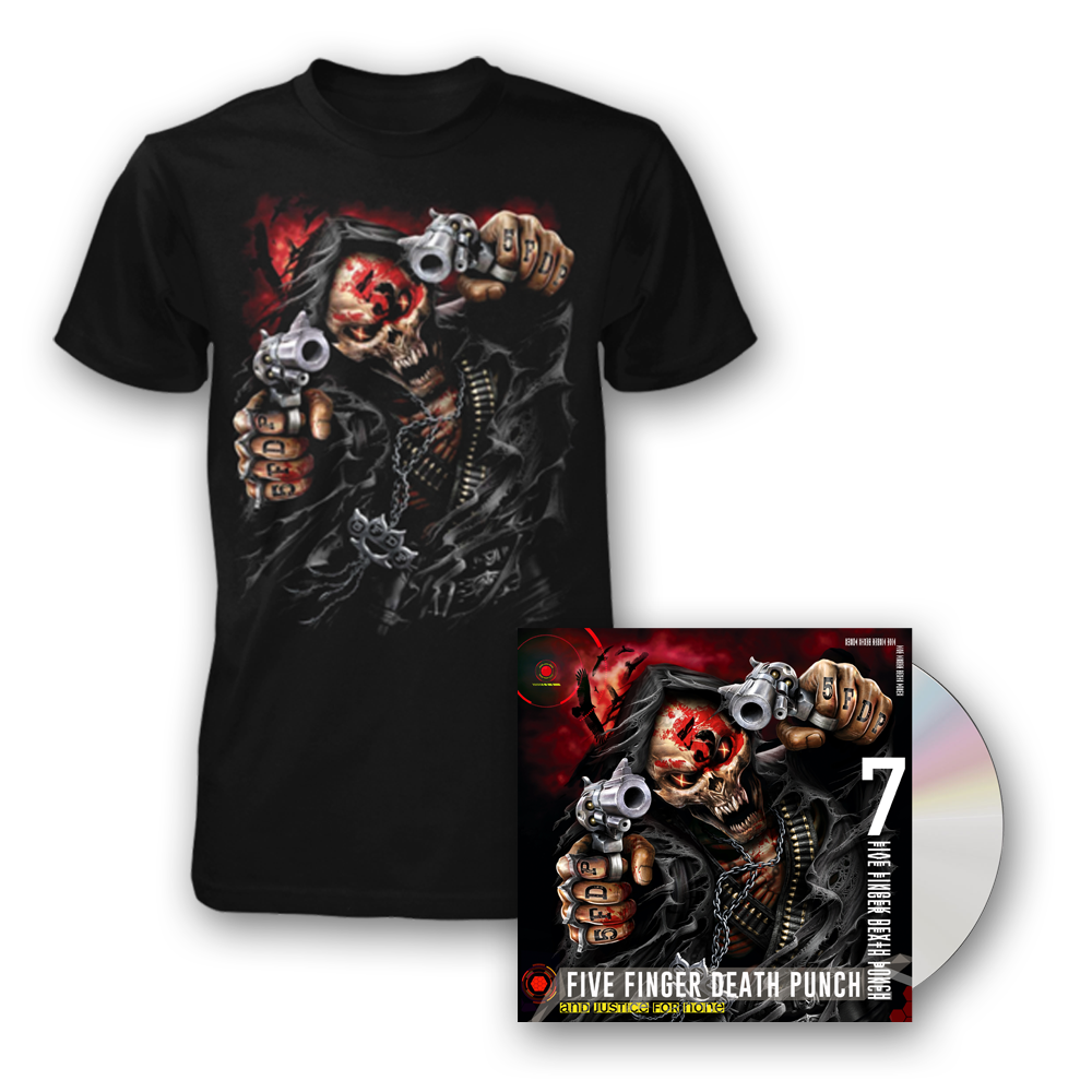 5FDP And Justice For None Merchandise Bundle