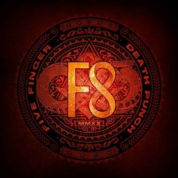 Five Finger Death Punch F8 Artwork