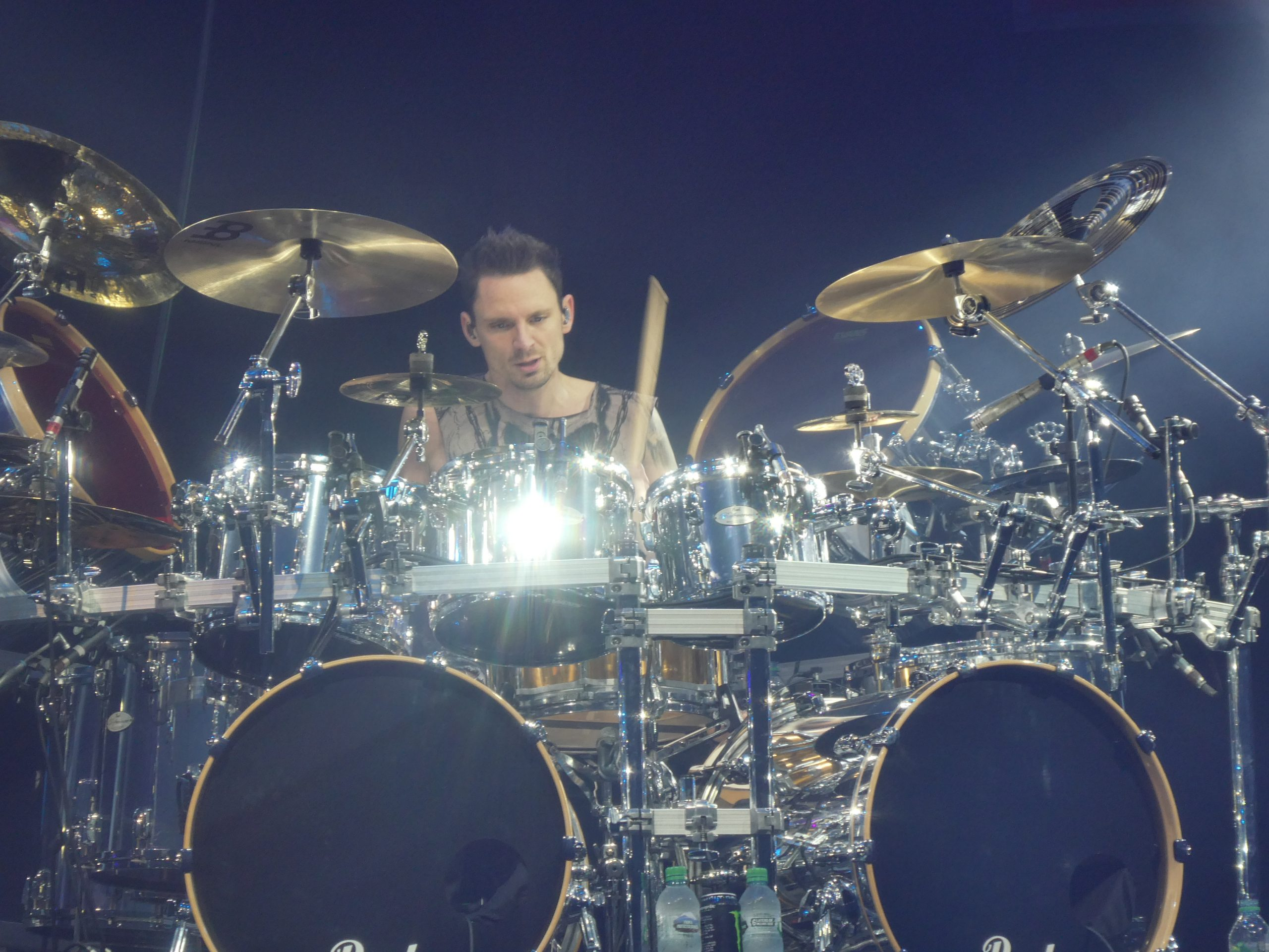 Charlie Engen of 5FDP onstage during the UK leg of the Megadeathpunch tour in 2020