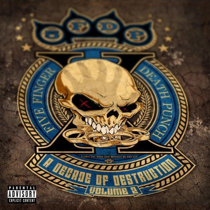 A Decade of Destruction Volume 2 album artwork