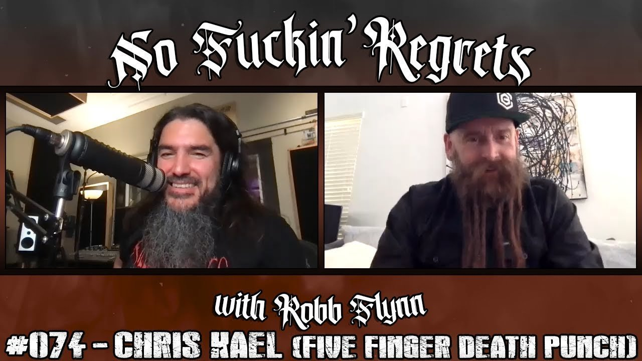 Chris Kael on the NFR Podcast with Robb Flynn of Machine Head