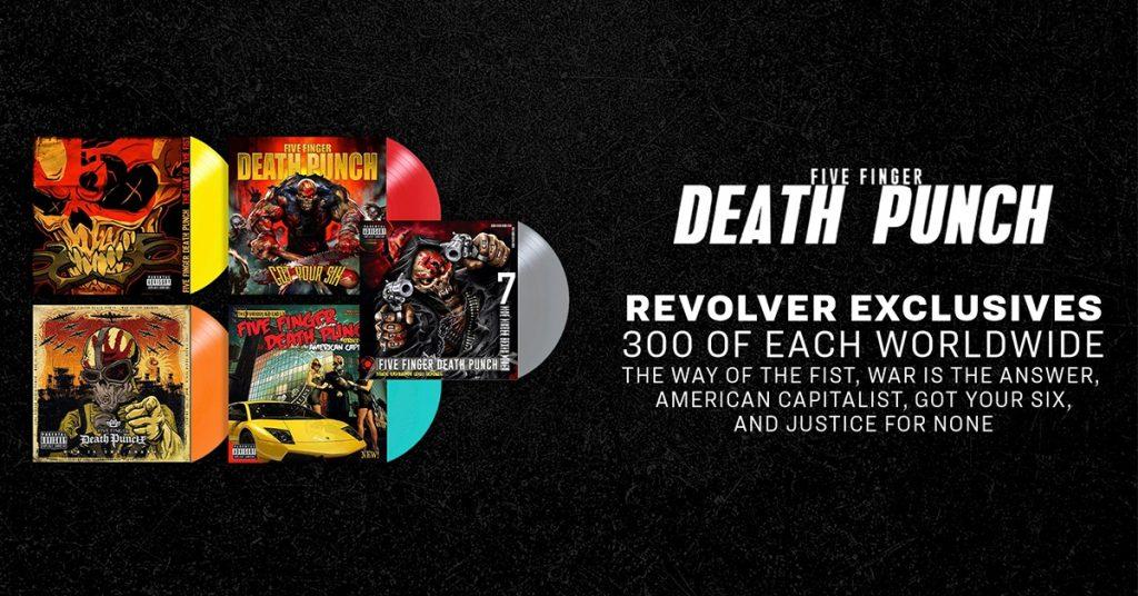 5FDP Revolver Magazine Exclusive Vinyls